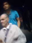 John Wooden, very blury, sorry IPHONE